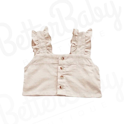 Bianca Baby Girl Cropped Shirt