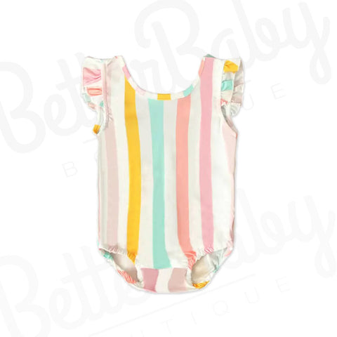 Blooming Baby Girl Bathing Suit
