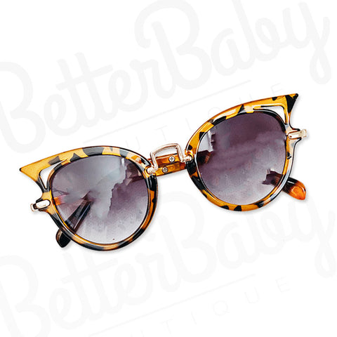 Cat Eye Baby Sunglasses Tortoise