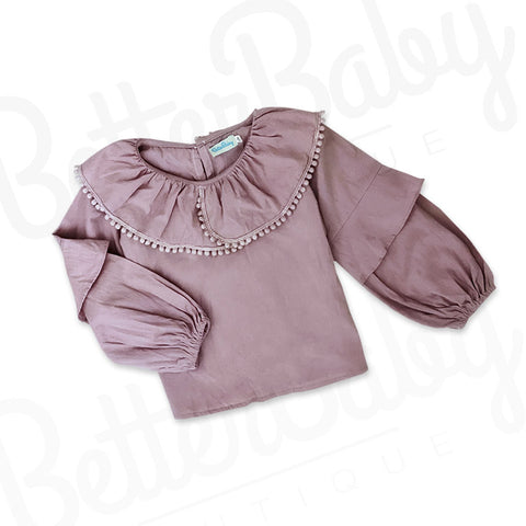 Collar At Me Baby Girl Shirt