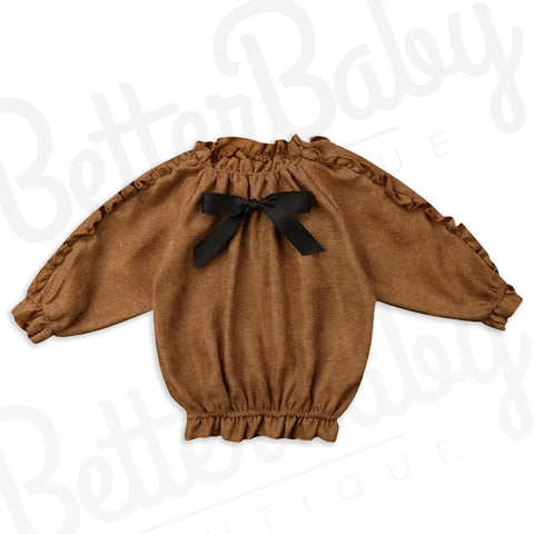 Baby Girl Long Sleeve Shirt