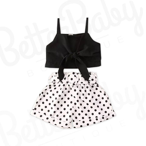 Enchanted Onyx Baby Girl Outfit