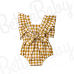 Fair And Square Baby Romper Back