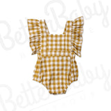 Fair And Square Baby Romper