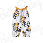 Flower Shower Baby Romper