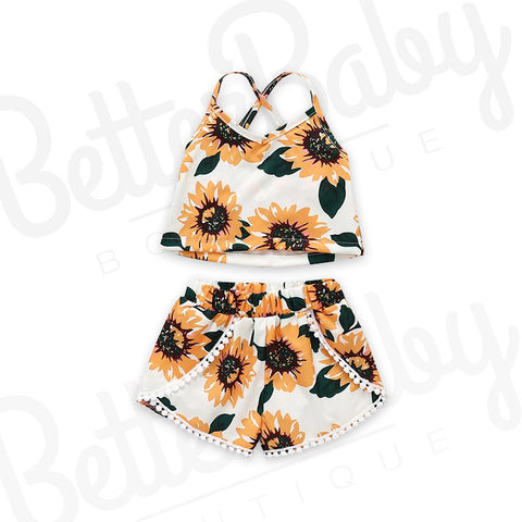 Flower Trip Baby Outfit