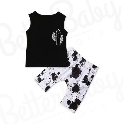 Fly For A Cacti Baby Boy Outfit