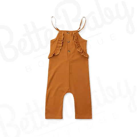 Frill Baby Girl Jumpsuit