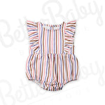 Give It Straight Baby Romper