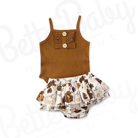 Golden Dreams Baby Girl Outfit