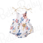 Grow Baby Girl Romper