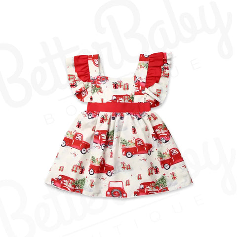 Holiday Cheer Baby Dress