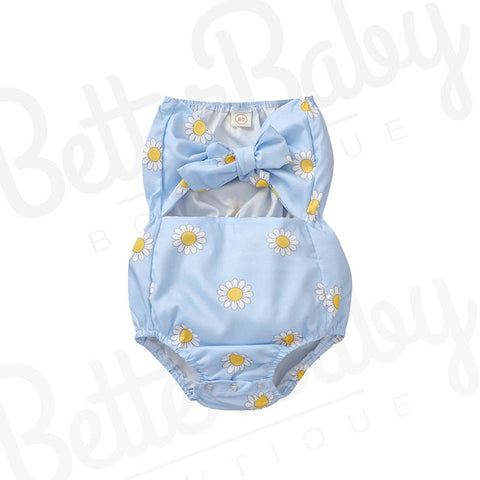 In The Garden Baby Girl Romper