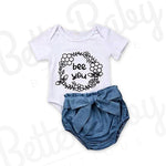 Just Bee Baby Girl Outfit