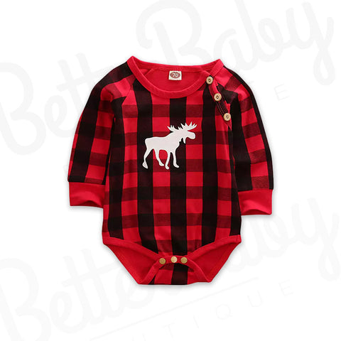 Just Moosing Around Baby Onesie
