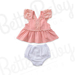 Just Pink About It Baby Girl Outfit