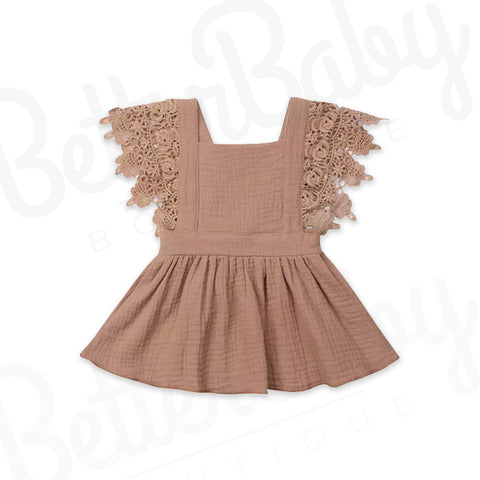 Laced In Grace Baby Dress