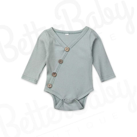 Lines Crossed Baby Onesie