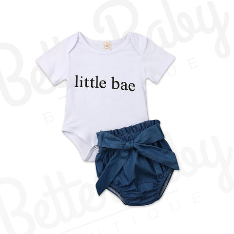 Little Bae Baby Girl Outfit