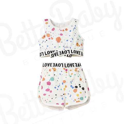 Love Language Baby Girl Outfit