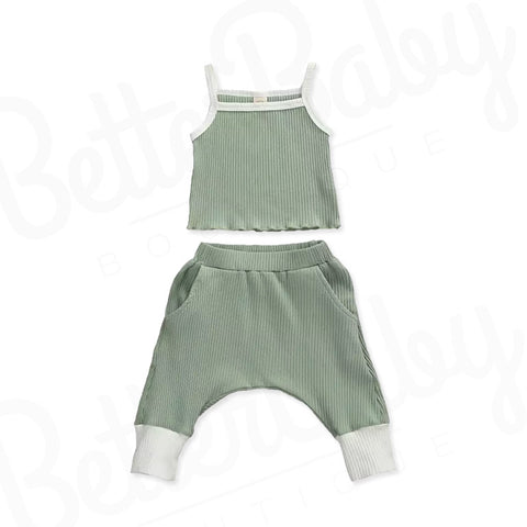 On Track Baby Girl Outfit