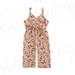 Pale Rose Baby Girl Jumpsuit
