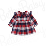 Plaid Baby Girl Dress