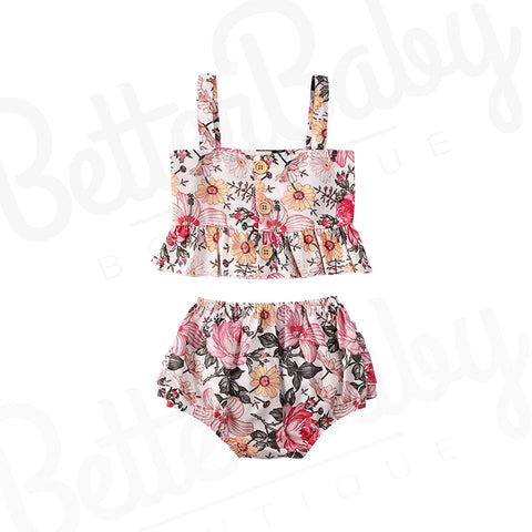 Planted Pretty Baby Girl Outfit