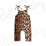 Press Paws Baby Cheetah Print Jumpsuit