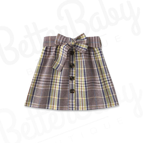 Pretty Prep Baby Girl Skirt