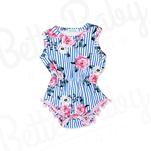 Rose The Bar Baby Romper
