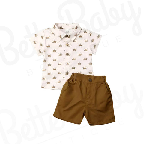 Royal Affair Baby Boy Outfit