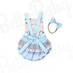Ruffles And Bunnies Baby Romper Back