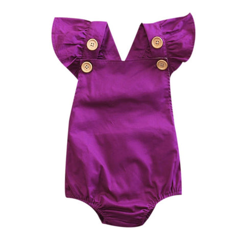 Candytuft Baby Romper