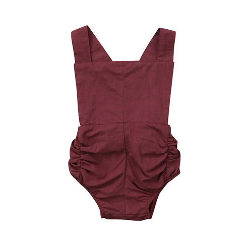 Midwest Chic Baby Girl Romper