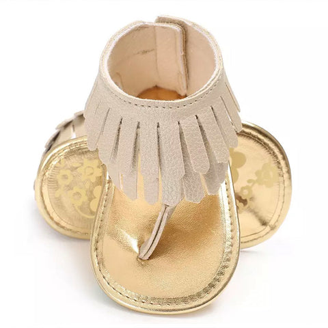 Toes And Tassels Baby Sandal