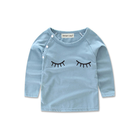 Blue Lash Top