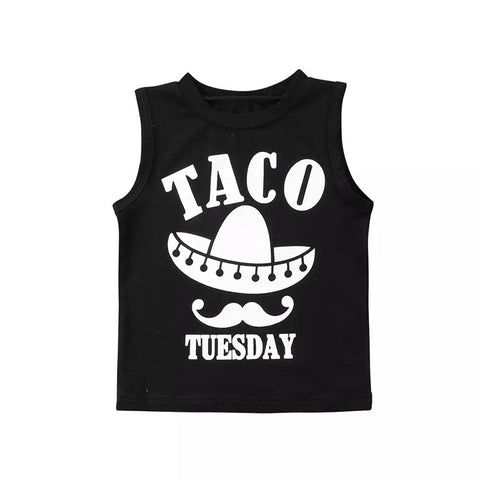 Taco Tuesday Baby Tank Top