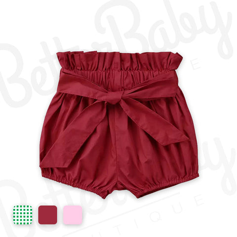 Mallory Baby Girl Shorts