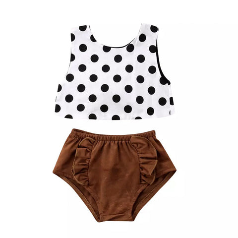 Fawn Baby Girl Outfit