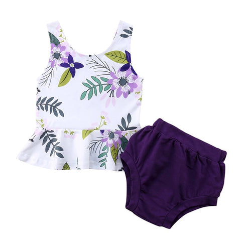 Lilac Miss Baby Girl Outfit