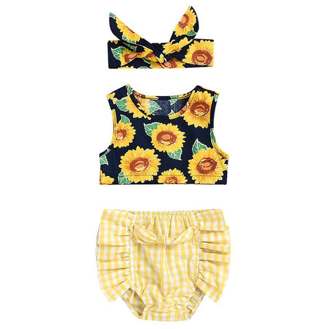 Mellow Meadow Baby Girl Outfit