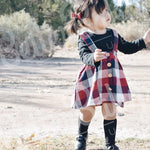 Ruby Overall Baby Girl Dress