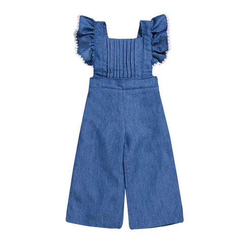 Sawyer Baby Girl Jumpsuit