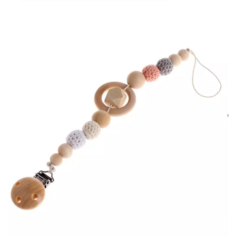 Teether Pacifier Clip