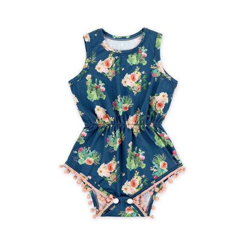 Chic And Sharp Baby Romper