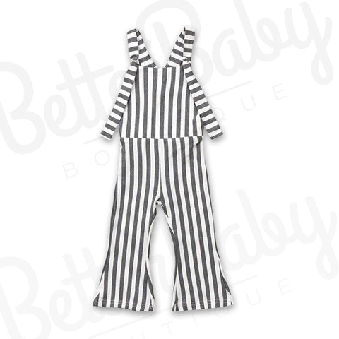 Stripe On Baby Jumpsuit