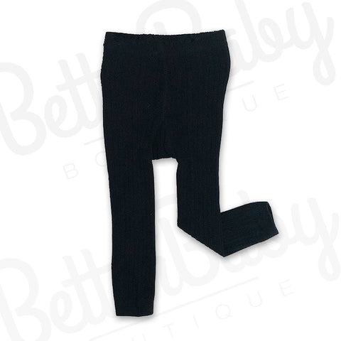 Ribbed Baby Leggings