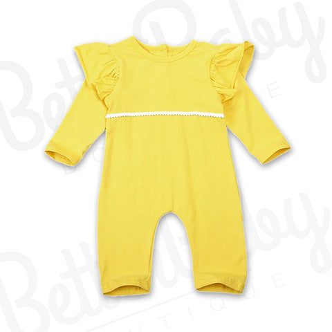 Lemon Drop Baby Girl Jumpsuit