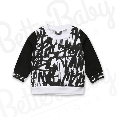 Sketch Me Baby Sweater